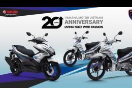 Yamaha Motor ra mắt NVX và Sirius phiên bản kỷ niệm 20 năm