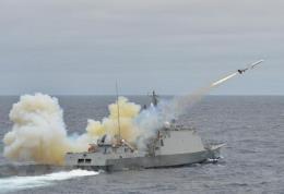 Nổ tàu hộ vệ ngoài khơi phía Nam, 1 binh sĩ thiệt mạng