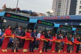 Hà Nội nâng cao chất lượng dịch vụ vận tải bằng xe buýt