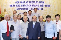 Thủ tướng Nguyễn Xuân Phúc: Báo chí cần góp phần xây dựng niềm tin, tạo đồng thuận xã hội