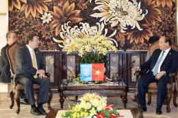 Thủ tướng Nguyễn Xuân Phúc tiếp Tổng giám đốc UNDP, UNIDO