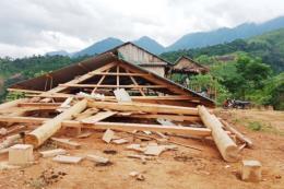 Hậu Giang khắc phục hậu quả trận mưa giông, lốc xoáy