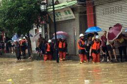 Trung Quốc: Mưa lũ ở khu vực Tây Nam khiến 100.000 người phải sơ tán