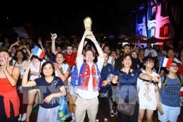 World Cup 2018: Gà trống vô địch sau 20 năm chờ đợi
