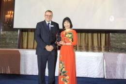 Vietcombank nhận giải Ngân hàng có sản phẩm Mobile Banking sáng tạo hiệu quả