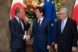 Lãnh đạo EU đánh giá FTA với Nhật Bản là thông điệp rõ ràng chống chủ nghĩa bảo hộ
