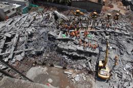 20 người có thể thiệt mạng trong vụ sập nhà tại Ấn Độ