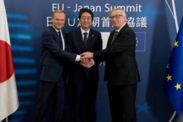 EU-Nhật Bản sát cánh duy trì trật tự thương mại đa phương