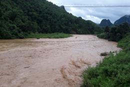 Thanh Hóa: Mưa lớn khiến 8 bản ở huyện miền núi Quan Sơn bị cô lập hoàn toàn