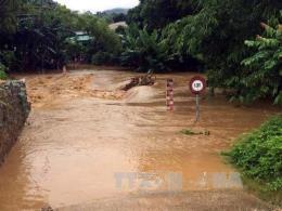 Nghệ An: Kịp thời cứu một người bị nước lũ cuốn trôi
