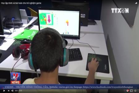 Học lập trình và bài toán cho trẻ nghiệm game