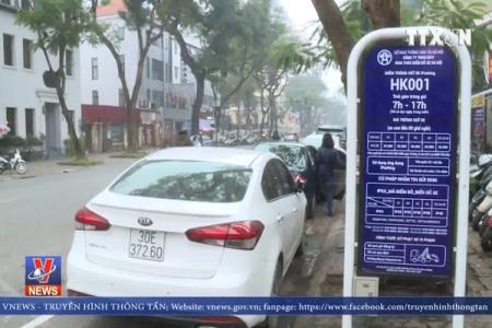 Hà Nội mở rộng 151 điểm đỗ xe thông minh iParking tại 9 quận nội thành