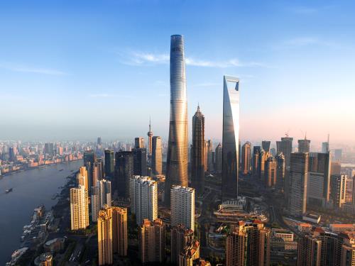 Công trình Shanghai Tower