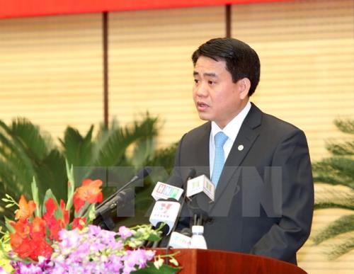"""Chủ tịch Nguyễn Đức Chung: Thông tin """"Hà Nội tiến hành phong tỏa"""" là sai sự thật"""