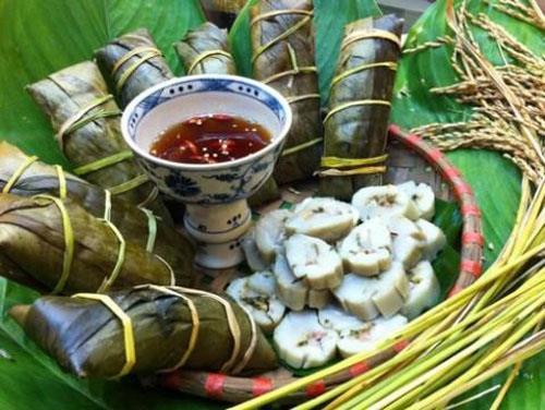Bánh tẻ làng Chờ
