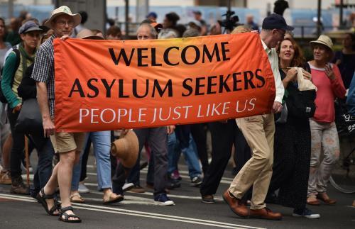 Tuần hành tại Australia kêu gọi định cư cho người xin tị nạn