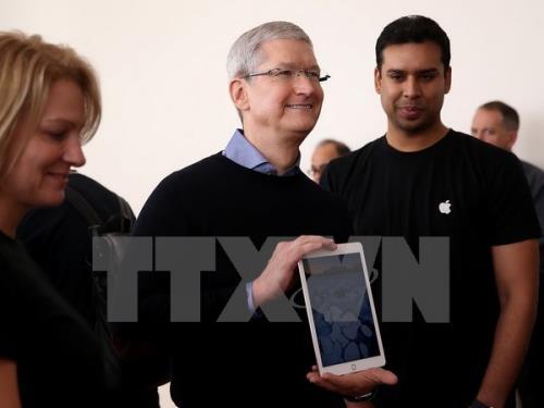 CEO Apple nhận được 750 triệu USD tiền thưởng