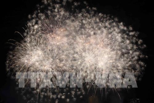 Hải Dương sẽ bắn pháo hoa ở 4 điểm đêm giao thừa Tết Canh Tý 2020. Ảnh minh họa: Trần Lê Lâm – TTXVN