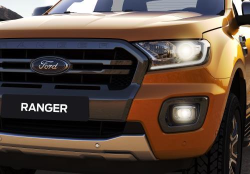 Kết quả hình ảnh cho ngoại that xe ranger 2018
