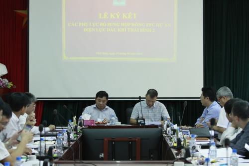Thay nhân sự chủ chốt Ban Quản lý dự án Nhiệt điện Thái Bình 2
