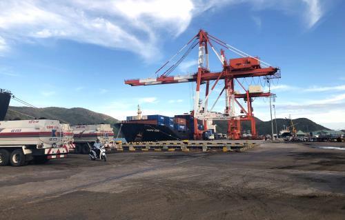 Cảng Quy Nhơn kỳ vọng khơi thông cảng biển miền Trung