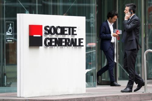 """Giá dầu giảm khiến nhiều ngân hàng Pháp """"liểng xiểng"""""""