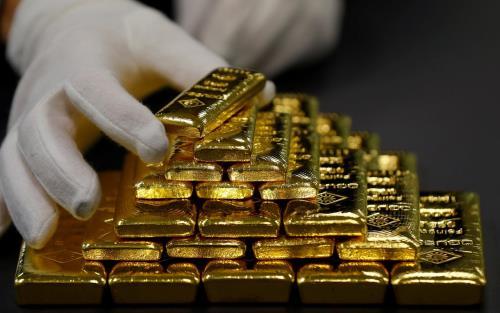Giá vàng châu Á giảm phiên 14/8 do lợi suất trái phiếu kho bạc Mỹ tăng