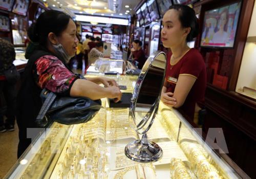 Giá vàng trong nước sáng 1/7 tăng 280.000 đồng/lượng