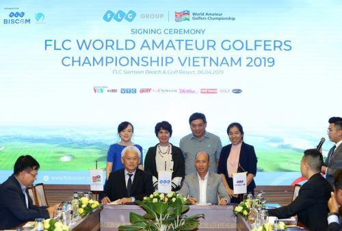 Hình ảnh: FLC giành quyền đăng cai giải 'FLC World Amateur Golfers Championship Vietnam 2019' số 1