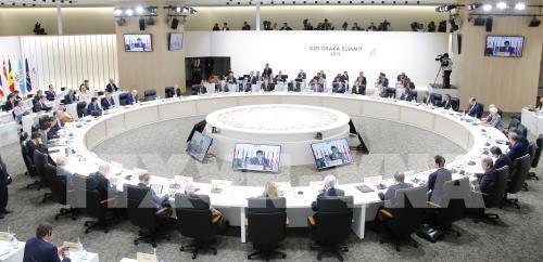Hội nghị thượng đỉnh G20 diễn ra theo hình thức trực tuyến