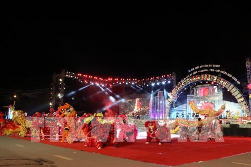 Lễ hội đường phố được tỉnh Hải Dương tổ chức lần đầu vào ngày 30/12/2018. Ảnh (tư liệu): Mạnh Tú - TTXVN