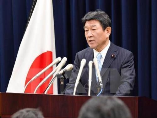 Nhật Bản kêu gọi giải quyết vấn đề Biển Đông trên cơ sở luật pháp quốc tế