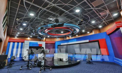 Khai trương Tòa nhà Trung tâm Truyền hình Thông tấn