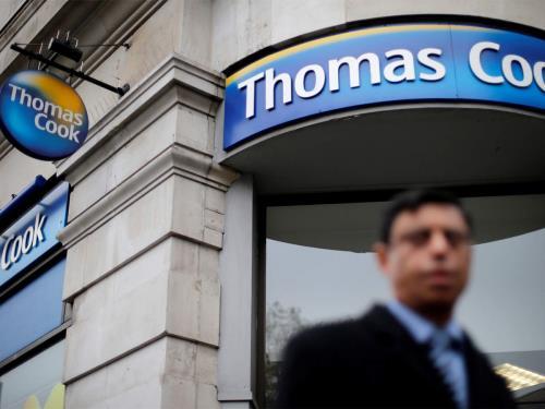 Thêm một chi nhánh của Thomas Cook tuyên bố phá sản