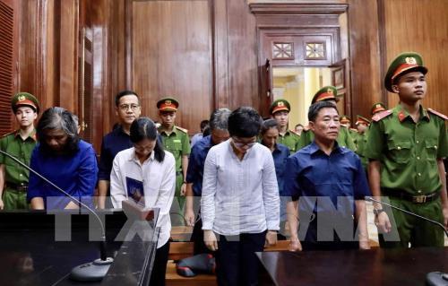 Tuyên án phúc thẩm vụ án tại Ngân hàng Đại Tín - giai đoạn 2