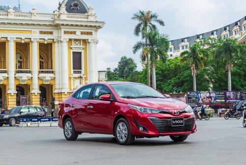 Bảng giá xe Toyota tháng 5/2020, sedan Vios chỉ từ 450 triệu đồng