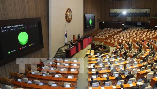 Quốc hội Hàn Quốc thảo luận ngân sách bổ sung hỗ trợ khẩn cấp cho toàn dân