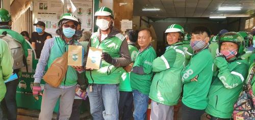 Tạm dừng dịch vụ gọi xe 2 bánh tại Hà Nội để phòng chống dịch COVID-19