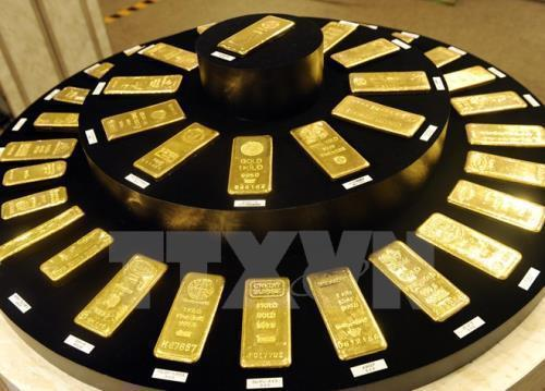 Giá vàng thế giới tăng sau quyết định của Fed