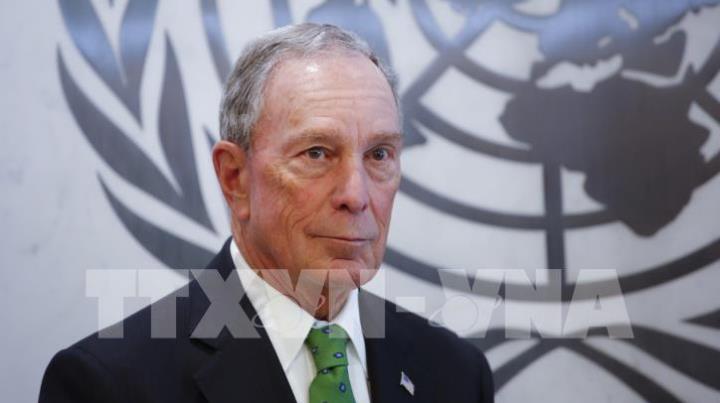Tỷ phú Bloomberg sẽ công bố những cam kết của nước Mỹ