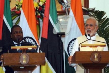 Ấn Độ và Mozambique thúc đẩy hợp tác kinh tế