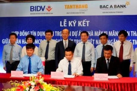 BIDV và BacABank tài trợ 3.150 tỷ đồng cho xi măng Tân Thắng