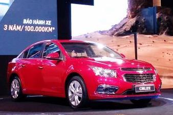 GM ra mắt Chevrolet Cruze nâng cấp giá từ 572 triệu đồng