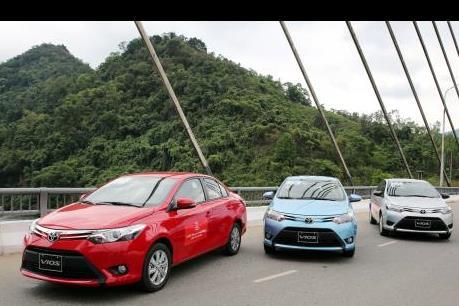 Vios 2015 dẫn dắt doanh số bán hàng của Toyota
