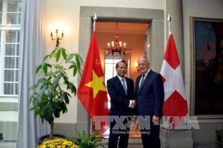 Việt Nam là đối tác quan trọng của Thụy Sĩ tại khu vực