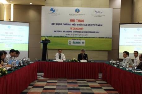Bàn biện pháp xây dựng thương hiệu quốc gia gạo Việt Nam