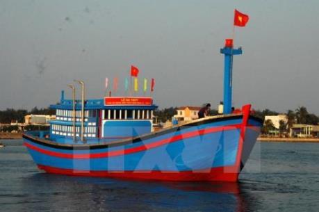 Đà Nẵng hạ thủy tàu vỏ gỗ đầu tiên đóng theo Nghị định 67