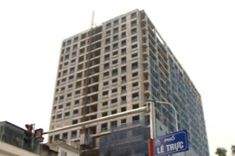 Thủ tướng yêu cầu Bộ Xây dựng có ý kiến về tòa nhà 8B Lê Trực