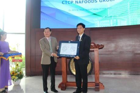 Nafoods Group chính thức niêm yết trên HSX