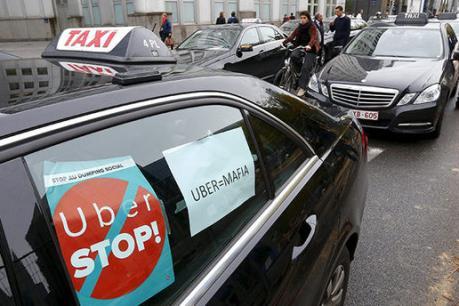Uber bị cấm tại Brussels